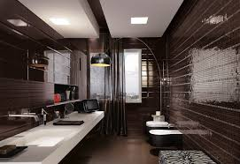 mosaic tile bathroom ideas black mosaic tiles maculine bathroom ideas interior design ideas