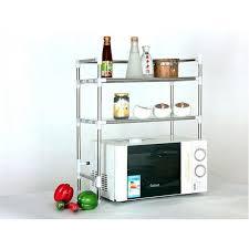 meuble à épices cuisine yontree étagère à four micro ondes rangement etagère à épices