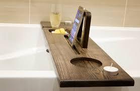 Bathtub Wine Bathroom Wine Glass Tray Bathtub Caddy Tray Bathtub Wine Holder