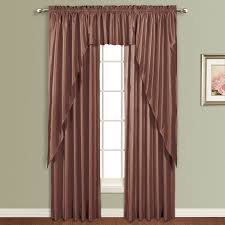 Chocolate Curtains With Valance Best 25 Faux Silk Curtains Ideas On Pinterest Silk Curtains