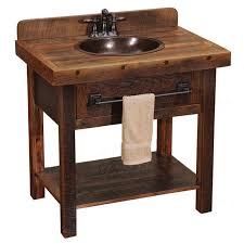 rustic bathroom sinks and vanities photo of installed in our rustic vanity with a price pfister faucet