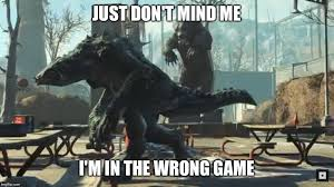 Elder Scrolls Online Meme - daedroth in fallout imgflip