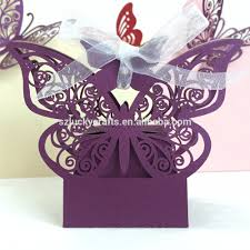 custom purple butterfly irregular shape laser cut paper