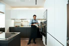 architect stephanie goto designs a home kitchen for daniel boulud