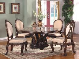 french country dining room mdf ashwood oak veneer material rounded