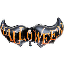 bat pirate ship inflatable pumpkin ghost witch helium aluminum