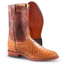 s justin boots on sale s justin 10 ostrich roper boots cognac 231931 cowboy