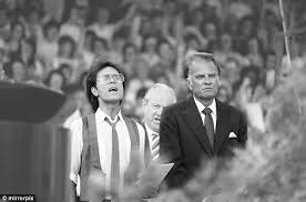 Superstar Billy Graham Bench Press Cliff Richard Billy Graham And A Rally Of The Faithful How One