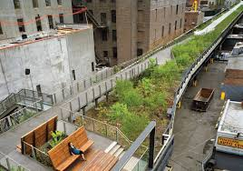 greenbelt native plant center nyc park rises from rusty rails turf