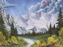 Mountain Landscape Paintings by Snowy Mountain By Makkon On Deviantart Snowy Snowy Mountain