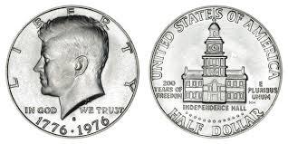 1776 to 1976 quarter 1976 s kennedy half dollars 40 silver bicentennial design value