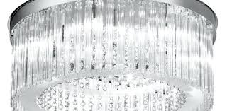 ceiling hypnotizing chrome glass ceiling lights remarkable satin