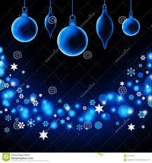 transparent christmas decorations royalty free stock photo image