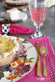floral and citrus summer brunch table remington avenue
