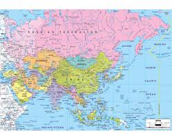 North Africa Southwest Asia And Central Asia Map by Maps Of Asia And Asian Countries Political Maps Road And