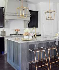 how to accessorize a grey and white kitchen kitchen update with gold accents by decor gold designs