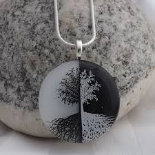 yin yang tree meaning ying yang tree of pendant creations by