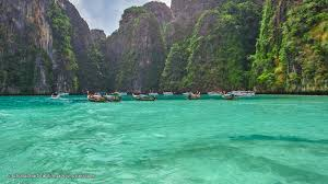 pi leh bay in phi phi island attractive bay in koh phi phi leh