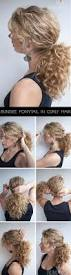 easy steps for hairstyles for medium length hair 21 hairstyles you can do in less than five minutes