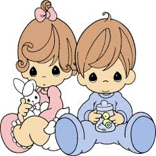 baby precious moments clipart