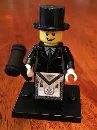 Masonic Home Decor Lego Freemason With Gavel And Apron