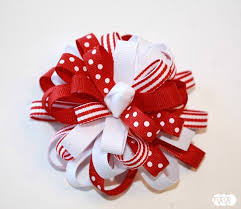 flower bow to make a flower loop hair bow the ribbon retreat