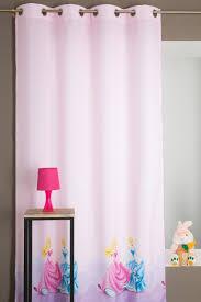 rideaux chambre d enfant rideau disney chambre enfant fille motif princesse decoboutique