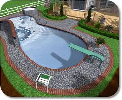 Swimming Pool Ideas For Small Backyards Backyard Swimming Pool Landscaping Ideas