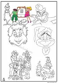 magic grinch coloring pages