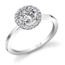 classic engagement ring classic center shiny shank engagement ring