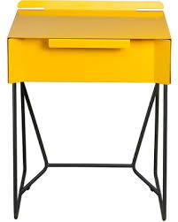 Yellow Table L Great Deals On Soft Modern Side Table Yellow Saffron Black Sauder