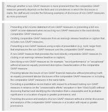 gaap useful life table sec urges companies to take a fresh look at non gaap measures cfo