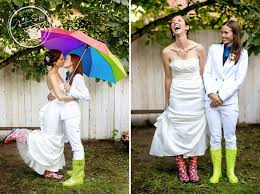 lgbt wedding dresses and wedding ideas proud to be