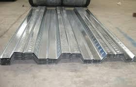 waterproof gi corrugated steel decking sheet metal roof deck for