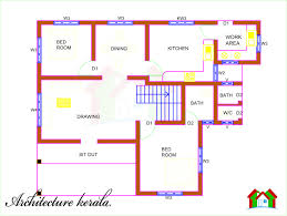 architect home plans architecture kerala 5 bedroom house plan and its elevation in
