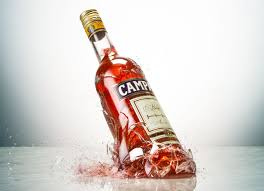 campari bottle stopping time domus