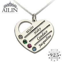 necklace with kids initials popular jewelry kids names buy cheap jewelry kids names lots from