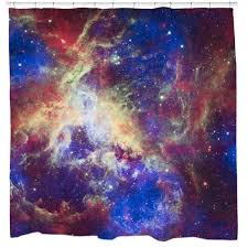 Outer Space Curtains Cool Unique Graphic Shower Curtains 19 99 Sharp Shirter