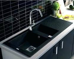 l evier de cuisine evier de cuisine en granite evier granit noir 2 bacs evier noir