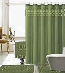 Matching Bathroom Accessories Sets Amazon Com 22 Piece Bath Accessory Set Sage Green Bath Rug Set