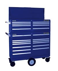 Kennedy Tool Box Side Cabinet 6 Drawer Blue Side Cabinet 53671947 Msc