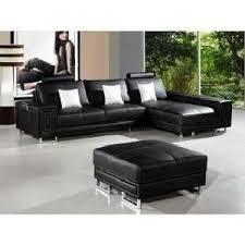 canape cuir avec tetiere canapé cuir d angle noir têtières relax oxford achat vente