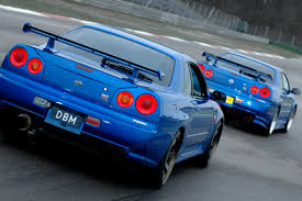 blue and gold r34 gtr google search car pinterest