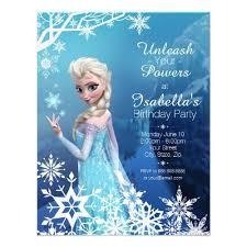 birthday invites outstanding frozen birthday party invitations
