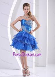 graduation dresses middle school ruched and beaded middle school graduation dress in blue