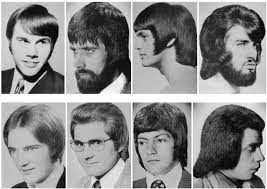 hairstyles in the late 60 s a hilarious montage of bad hairstyles for men from the 1960s and 1970s