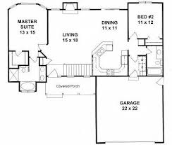 two bedroom two bath house plans best of house plans 2 bedroom 2 bath ranch new home plans design