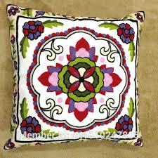 taie d oreiller pour canapé brodé épaisse toile de coton décoratif taie d oreiller pour canapé