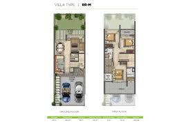 Bay Lake Tower Two Bedroom Villa Floor Plan Dubai Floor Plans Best Real Estate Agents In Dubai