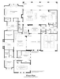 Contemporary Floor Plan by Turquesa The Azure Home Design